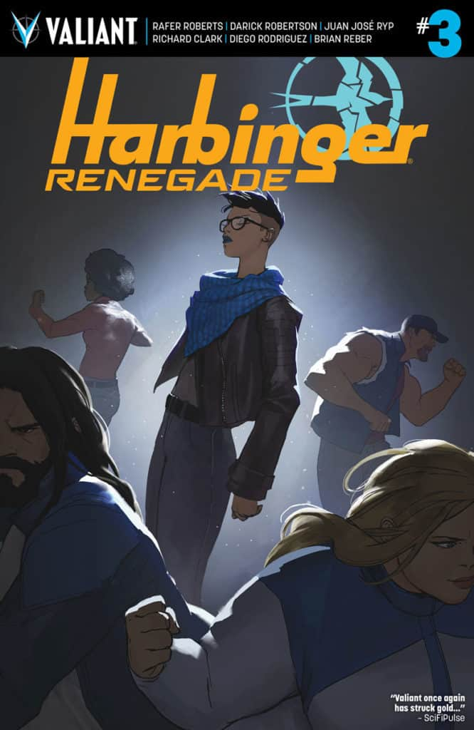 Preview Valiant's New Release (1/18): 'HARBINGER RENEGADE' #3 -