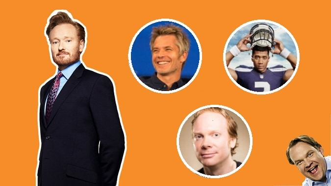 Last Night on CONAN (1/31): Timothy Olyphant | Russell Wilson | Nathan Macintosh