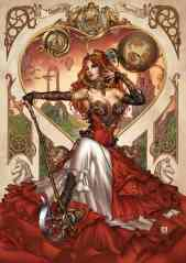 Grimm Fairy Tales Presents Steampunk Alice In Wonderland #1 - Cover C by Mike Krome