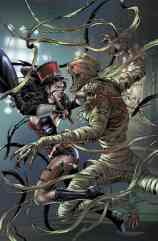 Grimm Fairy Tales Presents Van Helsing Vs The Mummy Of Amun Ra #1 (Of 5) - Cover B by Allan Otero