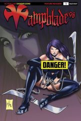Vampblade 98 #1 - Cover B by Arturo Louga (Risque)