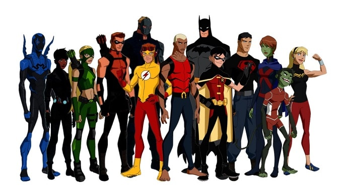 Young Justice 3 group