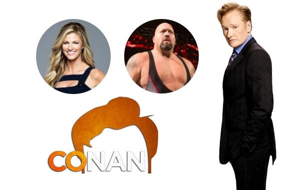 Last Night on CONAN (3/22): Erin Andrews | Big Show