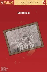 Divinity III - Stalinverse #4 - 1:25 Variant by Smallwood