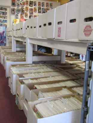 Boxes of back issues