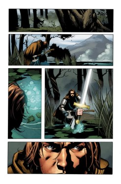 IMMORTAL BROTHERS: THE TALE OF THE GREEN KNIGHT #1 – Interior Art by Cary Nord with Mark Morales and Brian Reber