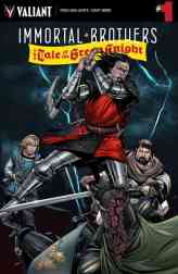 IMMORTAL BROTHERS: THE TALE OF THE GREEN KNIGHT #1 – Cover A by Cary Nord