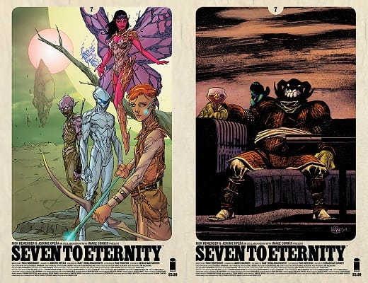 Image Comics: James Harren Joins Rick Remender on SEVEN TO ETERNITY #7