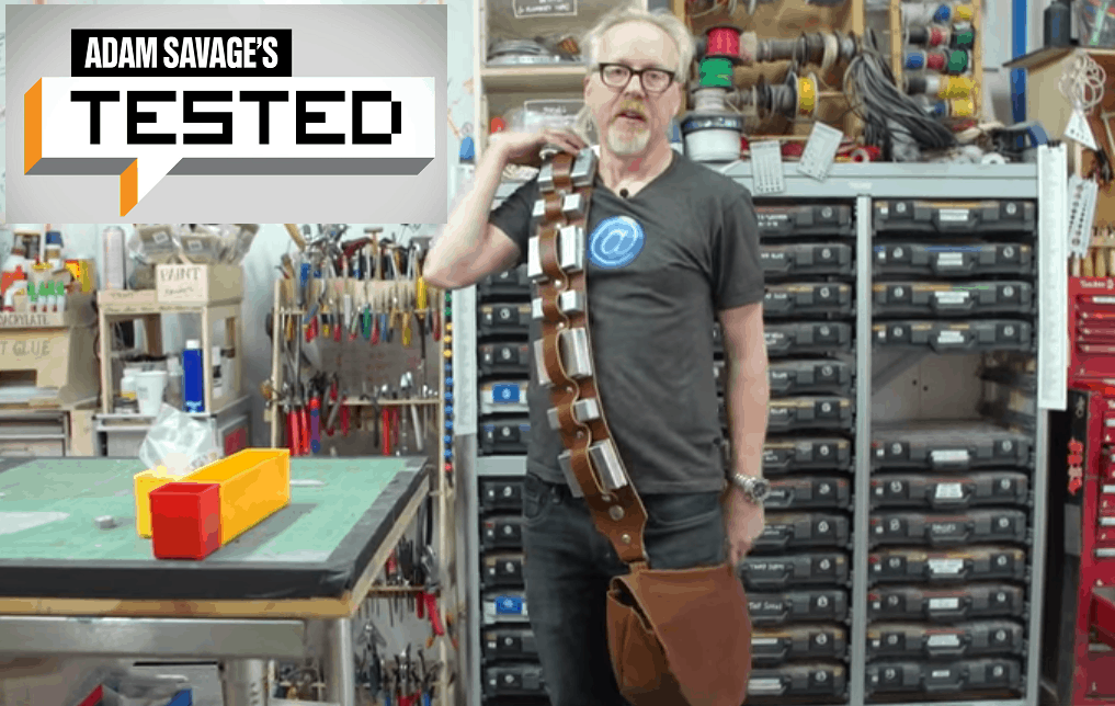 Adam Savage Builds Chewbacca's Bandolier in One Day!
