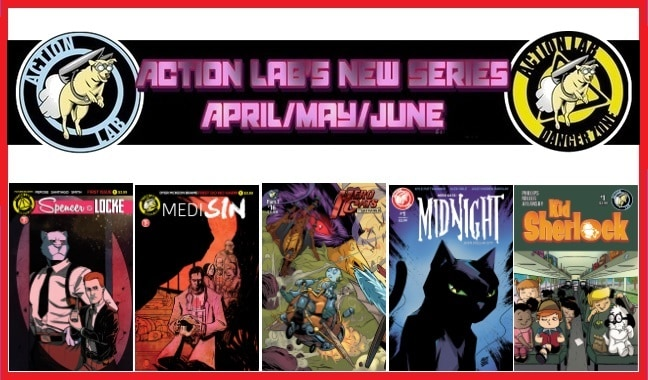 Action Lab Entertainment Announces Next Wave of Creator-Owned Series for Q2 2017