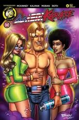 Amerikarate #4 - Cover C by Dave Perillo