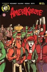 Amerikarate #4 - Cover B by Daniel Arruda Massa