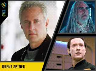 Saturday and Sunday - Data in Star Trek: Next Generation and Dr Brackish Okun in Independence Day