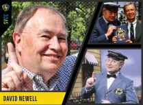 Deliveryman Mr. McFeely from Mr. Rogers' Neighborhood