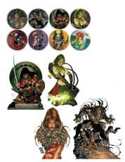 Kickstarter Exclusive: Top Cow 25th Anniversary Sticker & Button Pack