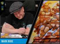 Mark is best known for his work on the graphic novel series COBALT 60 and as the creator of the hit comic Miami Mice