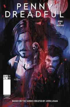 Penny Dreadful #1 - Cover F by Louie De Martinis