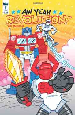 Revolution Aw Yeah #1 - Cover B by Art Baltazar