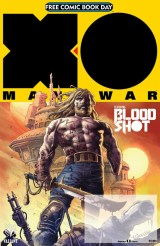 First: The biggest Valiant debut of all time begins with an all-new prelude to X-O Manowar from visionary storyteller Matt Kindt and blockbuster artists Tomas Giorello, Doug Braithwaite, Clayton Crain, Ryan Bodenheim, and Mico Suayan! Then, comics superstar Jeff Lemire begins the march toward Bloodshot Salvation with the first appearance of A Major New Character! Plus: Faith, Harbinger Renegade, Ninjak, Psi-Lords, Secret Weapons, Shadowman, and surprise revelations for Harbinger Wars 2! [TEEN]