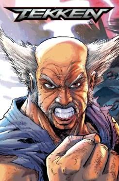 Tekken #1 - Cover F by Andie Tong