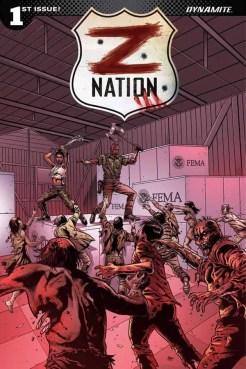 Z Nation #1 - Cover I by Edu Menna