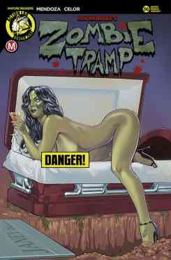 Zombie Tramp #36 - Cover F Risque Variant by Andrew Herman