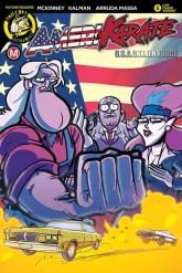 Amerikarate#5 - Cover B