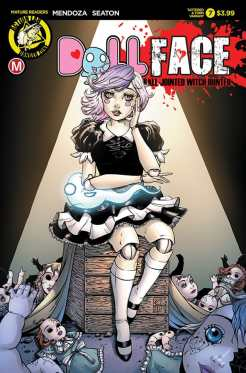Cover E – Colette Turner Pin-up variant cover (limited to 1500)