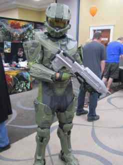 Master Chief in the house