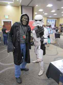 The Living Corpse w/ a stormtrooper