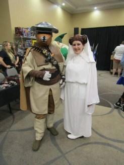 Boushh and Princess Leia