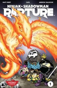 RAPTURE #1 (of 4) – Phoenix Comicon Variant by Jeff Piña