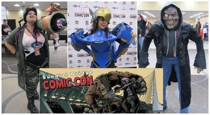 Cosplay at Sundial Bridge Comic Con - Redding, CA (5/20-21) [Pics + Video]