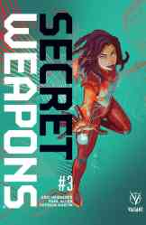 Secret Weapons #3 - Cover B by AFUA RICHARDSON
