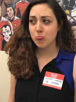 Alicia Raines, Valiant Intern Her Power is: ALWAYS LOSING THE LOTTERY