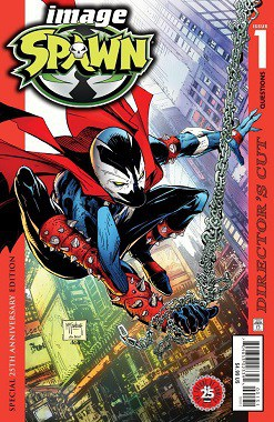 To Meet Demand, SPAWN #1 25th Anniversary DIRECTOR'S CUT to Receive FOIL ENCORE EDITION Reprint
