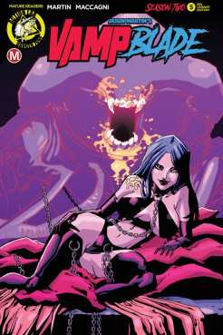 VAMPBLADE SEASON 2 #5 - Cover E – 90s variant (limited to 1500) by Marco Maccagni
