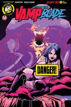 VAMPBLADE SEASON 2 #5 - Cover F – 90s risqué (limited to 2000) by Marco Maccagni