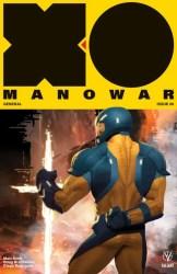 X-O Manowar #6 - X-O Manowar Icon Variant by ARIEL OLIVETTI