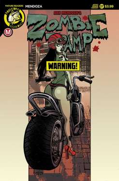 Zombie Tramp #37 - Cover F – artist risqué variant (limited to 2500) by Renzo Rodriguez