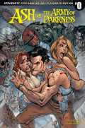Ash vs. the Army of Darkness #0 - Cover F - 13th Anniversary Flashback Variant by J. Scott Campbell