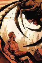 Centipede #2 - Virgin Variant Cover by Francesco Francavilla