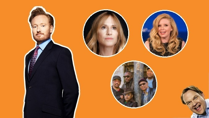 Last Night on CONAN - 6/13/17: Holly Hunter | Natasha Lyonne | Robert Cray & Hi Rhythm