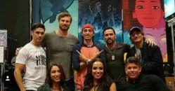 Ninjak VS cast