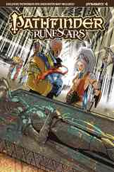 Pathfinder: Runescars #4 - Cover B by Pasquale Qualano