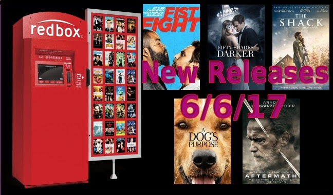 New to Redbox - 6/6/17: Preview & Trailers of This Week's New Releases