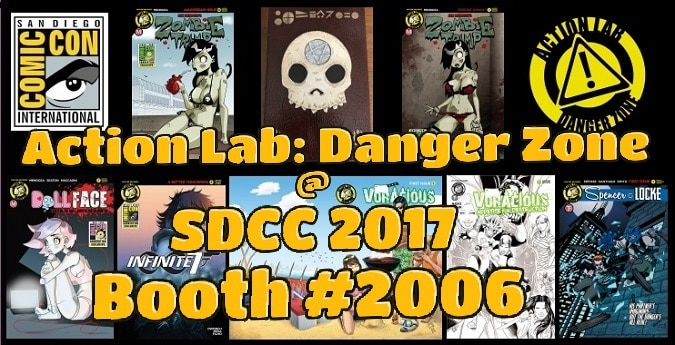 #SDCC2017: Action Lab: Danger Zone's Exclusives