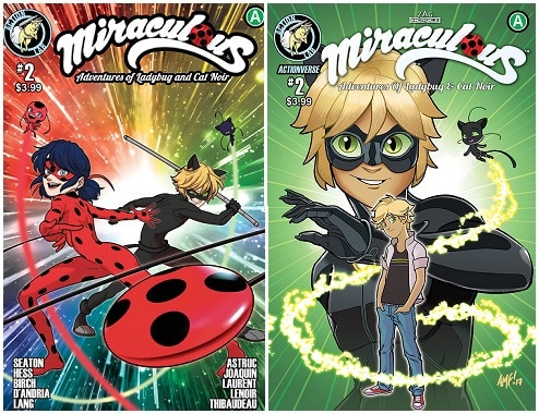 [Preview] Action Lab's 8/30 Release: MIRACULOUS ADVENTURES OF LADYBUG & CAT NOIR #2