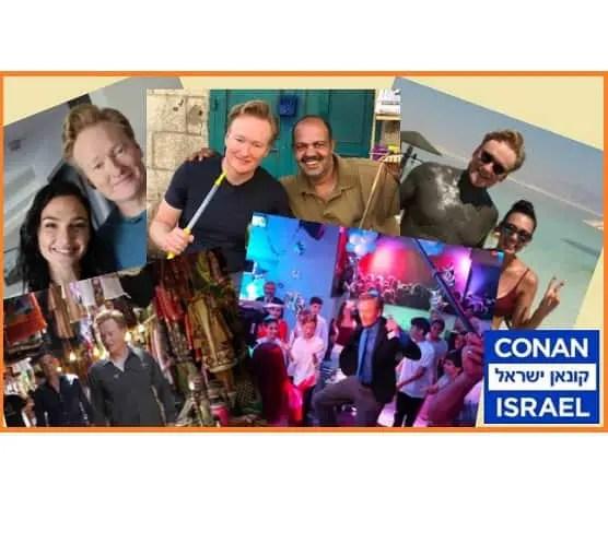 CONAN in Israel - #ConanIsrael