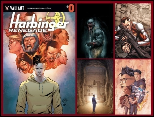 [Preview] The Road to HARBINGER WARS 2 Continues in HARBINGER RENEGADE #0